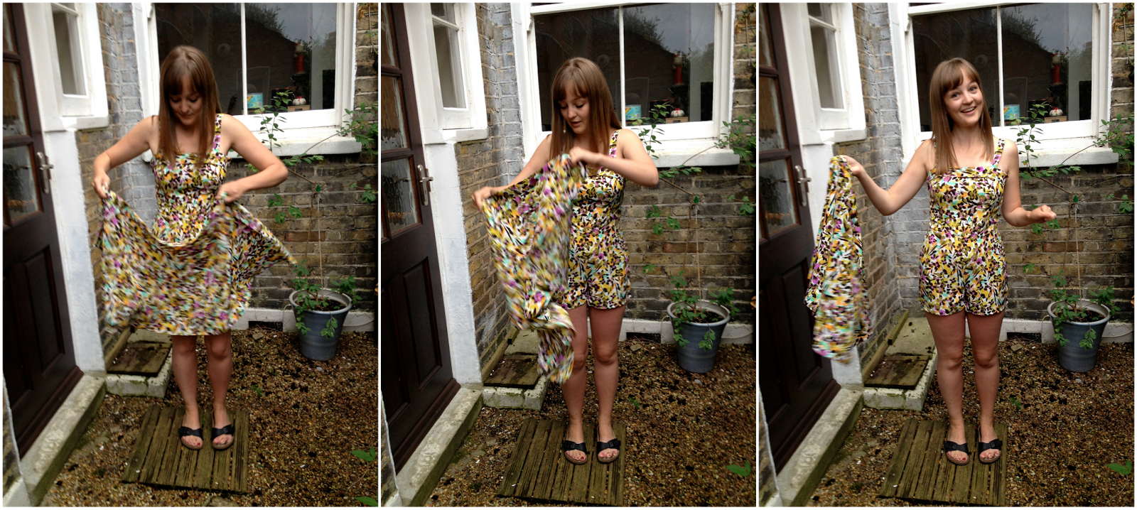 Diary of a Chain Stitcher: Miette Skirt with Holly Playsuit
