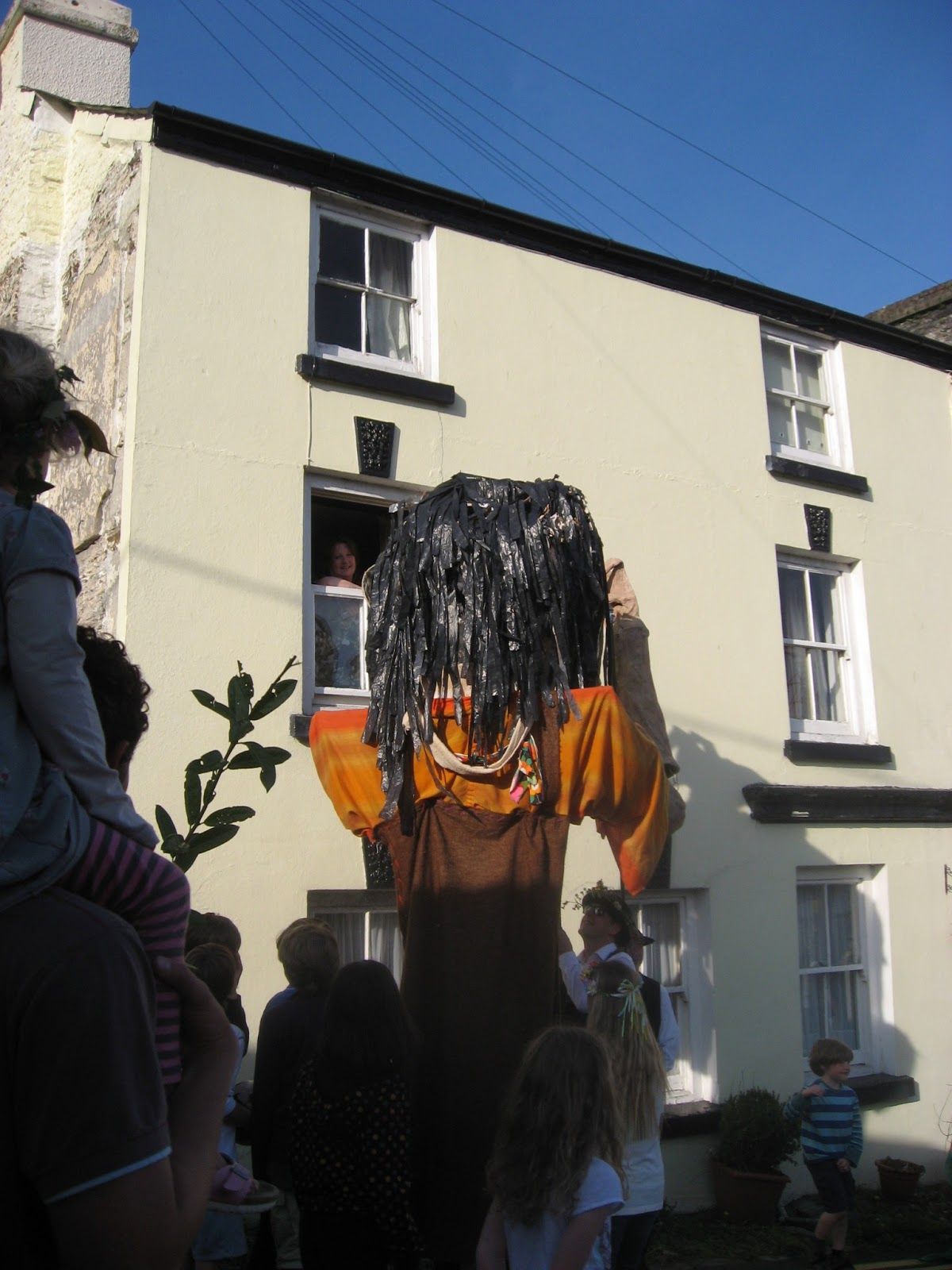 And Yes The Calstock Giant Does Knock On Cottages First Floor Windows To Bring People Out Play Home