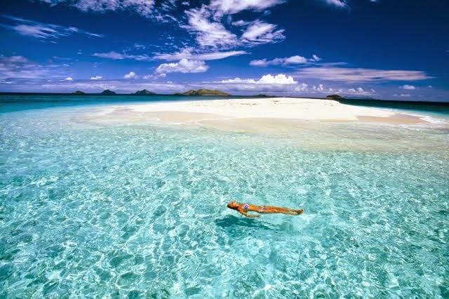 南太平洋の楽園で過ごす休日♪