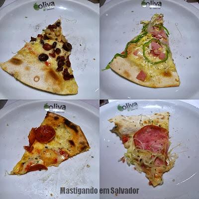 Oliva Gourmet: Fatias de Pizzas do rodízio
