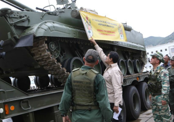 Resultado de imagen de venezuela inversiones en material belico