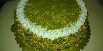 Fıstıklı Pasta Tarifi Yapımı