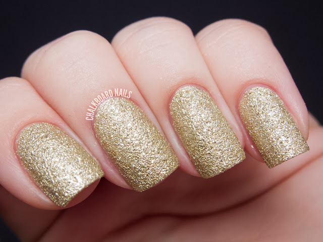Chalkboard Nails: OPI Honey Ryder Liquid Sand nail polish