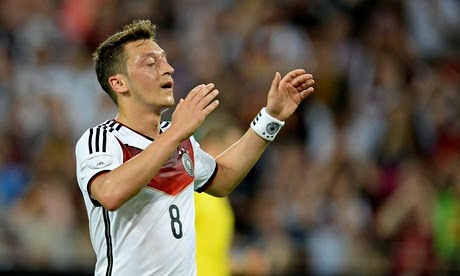 all sports players mesut ozil 2014