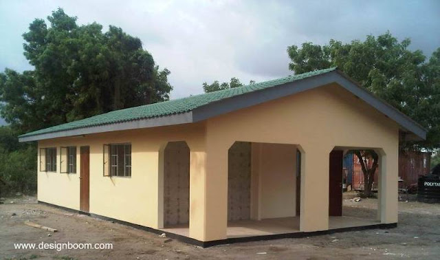 Casa económica para África