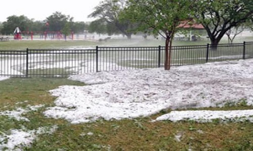 Temple_hailstorm_photo