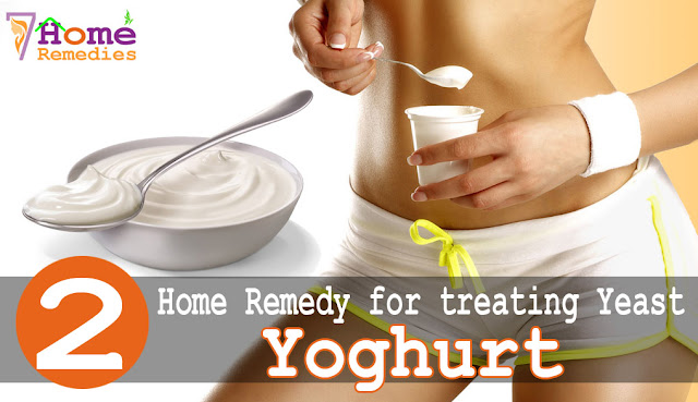 yoghurt is used to treat yeast