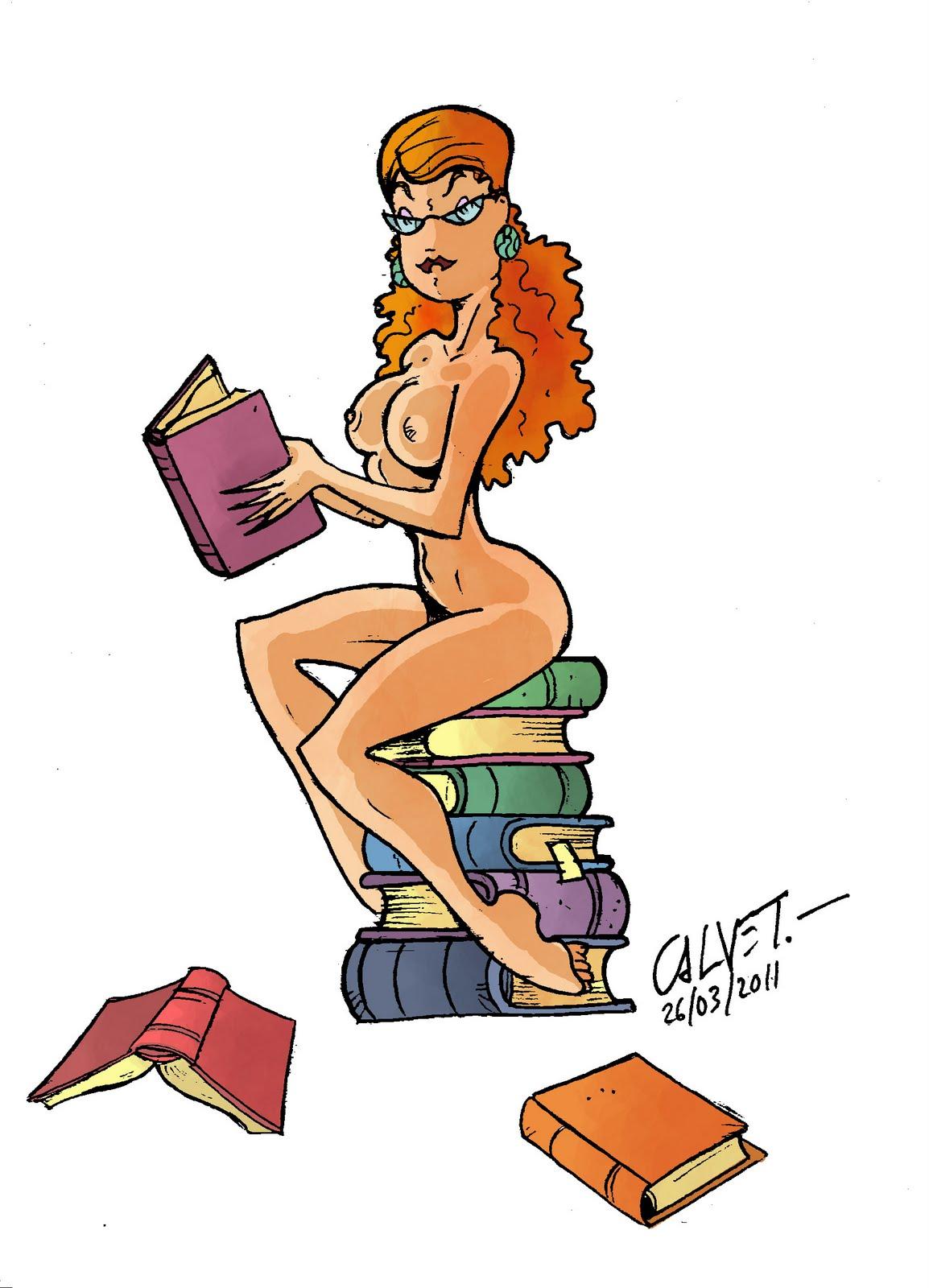 Reading is sexy/ Читать - это сексуально