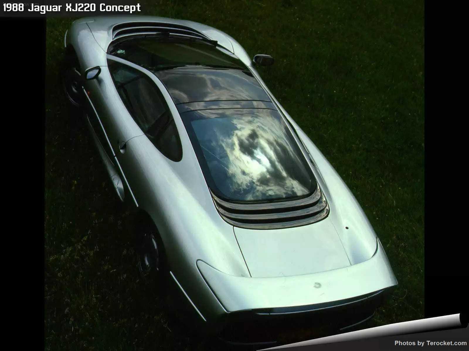 Hình ảnh xe ô tô Jaguar XJ220 Concept 1988 & nội ngoại thất