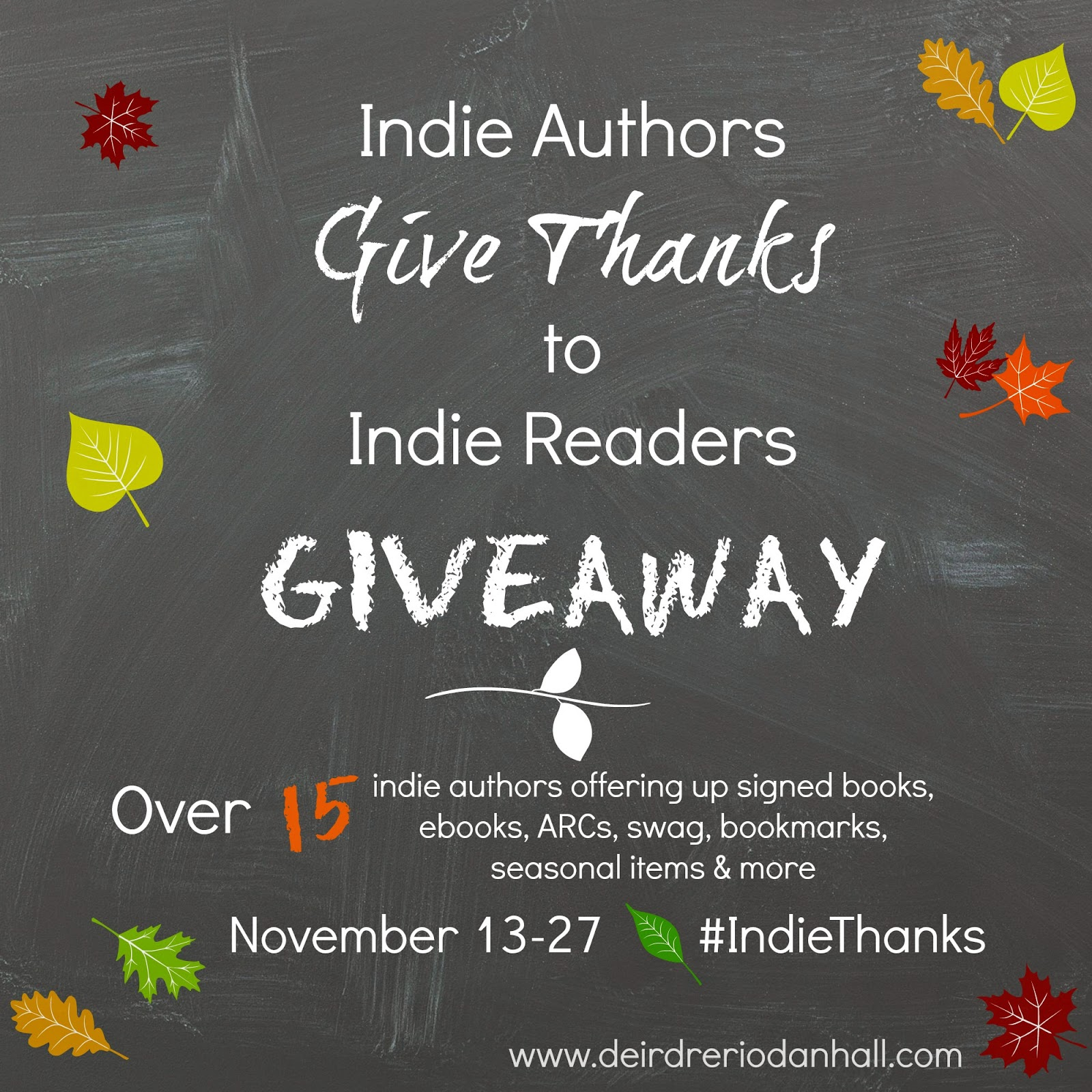 The One with the Indie Authors Give Thanks #Giveaway!