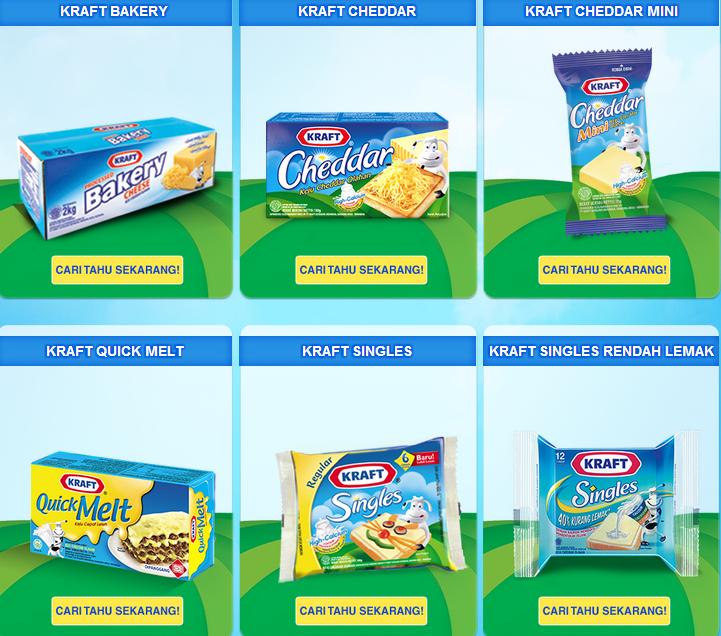 Keju Kraft Harga Taunya Cuma Keju Kraft