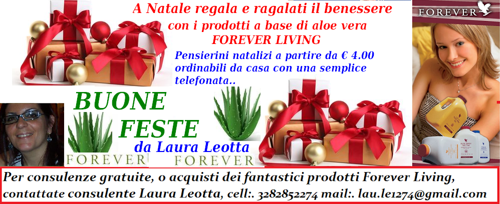 ALOE VERA RAGUSA FOREVER LIVING PRODUCTS