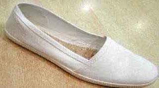 zapatillas camping blanco