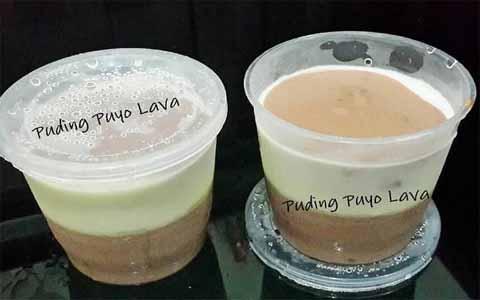 Resep Puding Puyo Lava Enak Dan Lembut