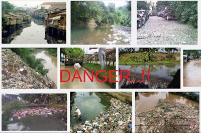 sungai kotor sangat berbahaya