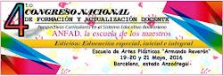 IV Congreso Nacional de Formación y Actualización Docente