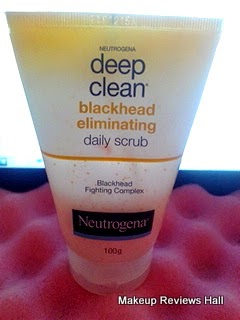 Neutrogena Deep Clean Daily Scrub Review