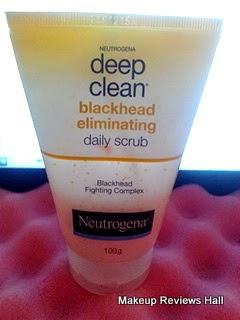 Neutrogena Deep Clean Daily Scrub Review