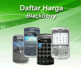 Harga Blackberry Terbaru November 2012