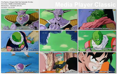 "Download Film / Anime Dragon Ball Kai Episode 33 ""Kekuatan Super Son Goku! Rencana Rahasia Komandan Ginyu"" Bahasa Indonesia"