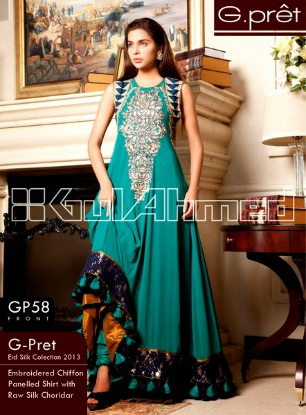 Pakistani Green Dresses