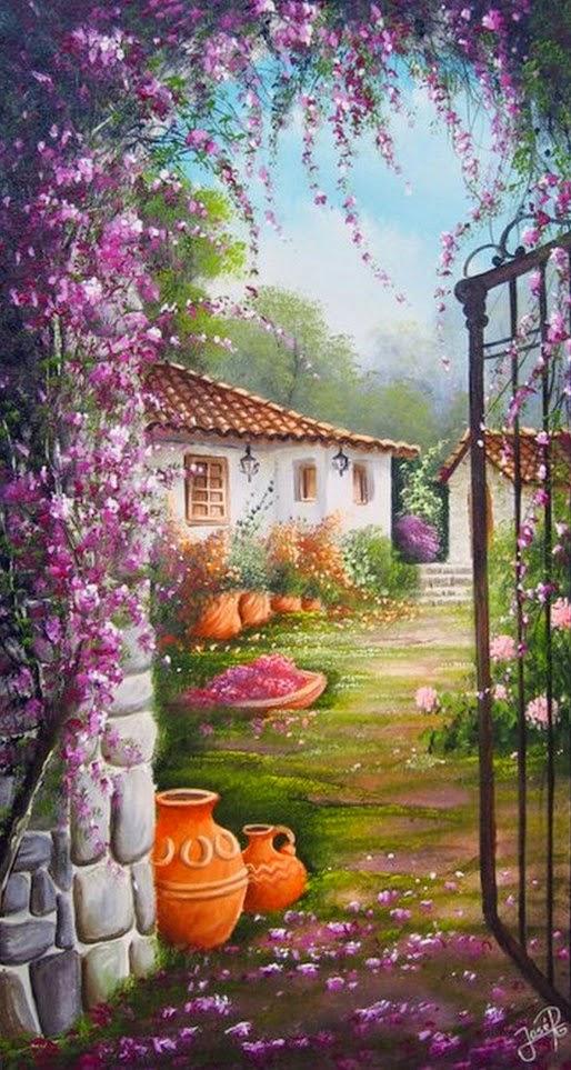 puertas-con-flores