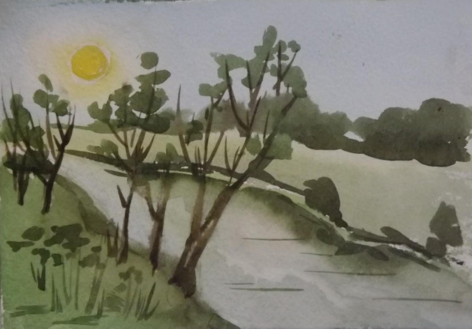 Рисую за два дня