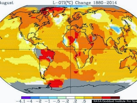 The Planet Just Had Its Warmest August On Record