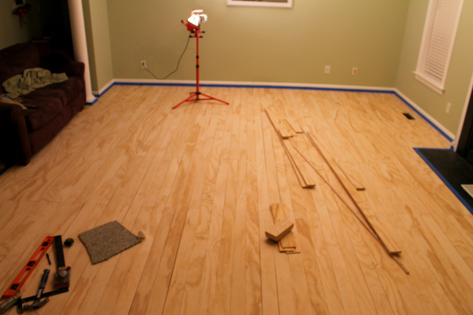 Plywood floors for All floors