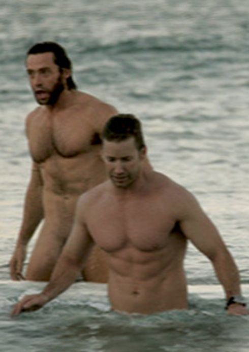 Hugh Jackman Fully Naked Frontal
