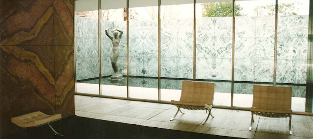 Pabellón Aleman Barcelona 1929 Mies Van der Rohe