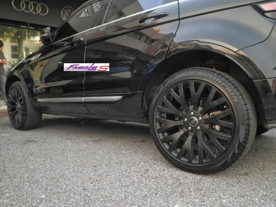 Range Rover Evoque Kahn Wheel Amp Boot Spoiler Fredles