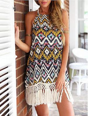 5 summer basics: tasseled dress. Visit www.forarealwoman.com  #moda #fashion #blogger