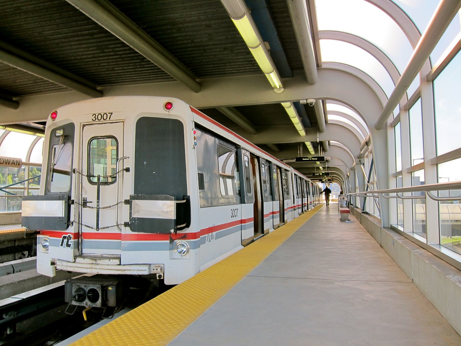 Scarborough RT train at McCowan station