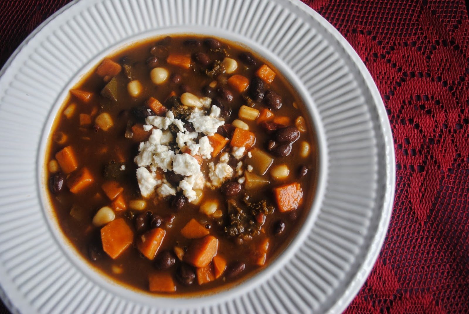 Annie's Gluten Free Grub: Chipotle Sweet Potato and Black Bean Soup