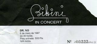 entrada de concierto de dr.no