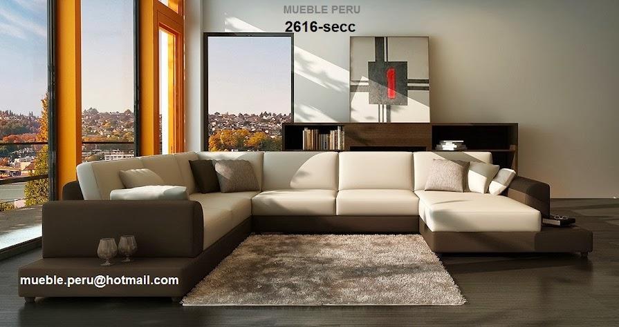 Mueble per finos y modernos muebles de sala seccionales for Muebles en l modernos para sala