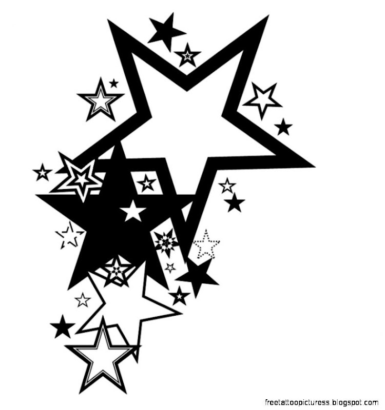 Stars Tattoo  Free Tattoo Pictures