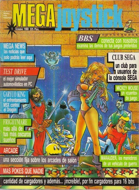 Revistas MEGA Joystick [ES]en Retroinvaders