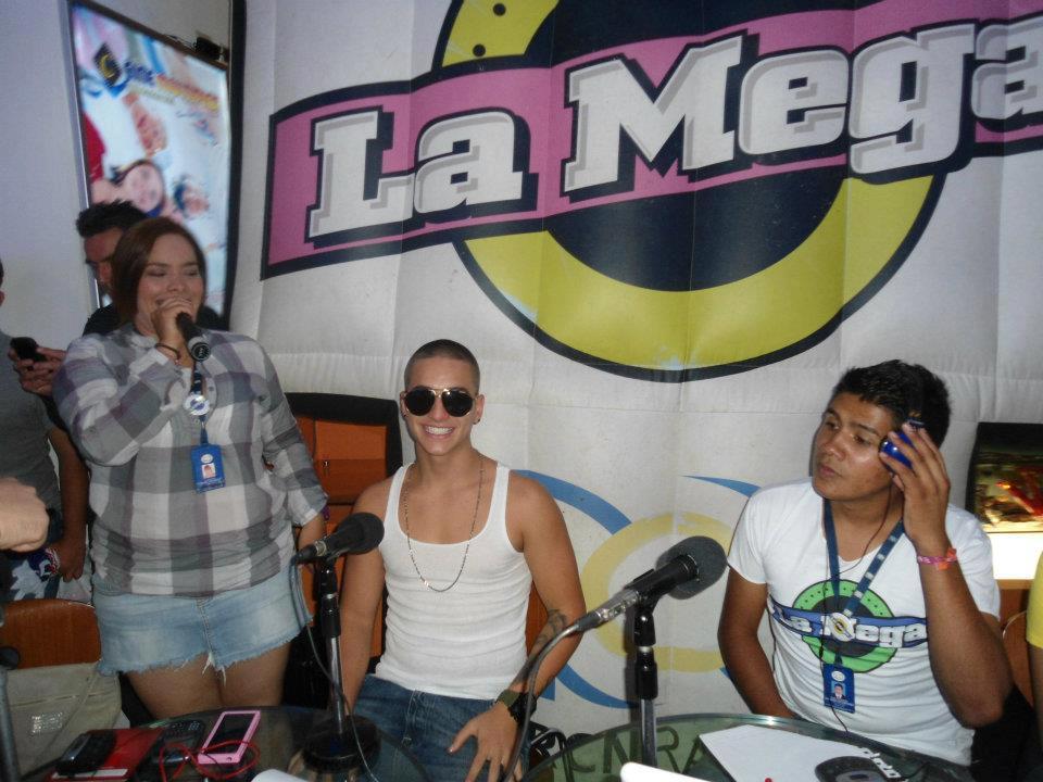 Fotos de los presentadores de la mega 54