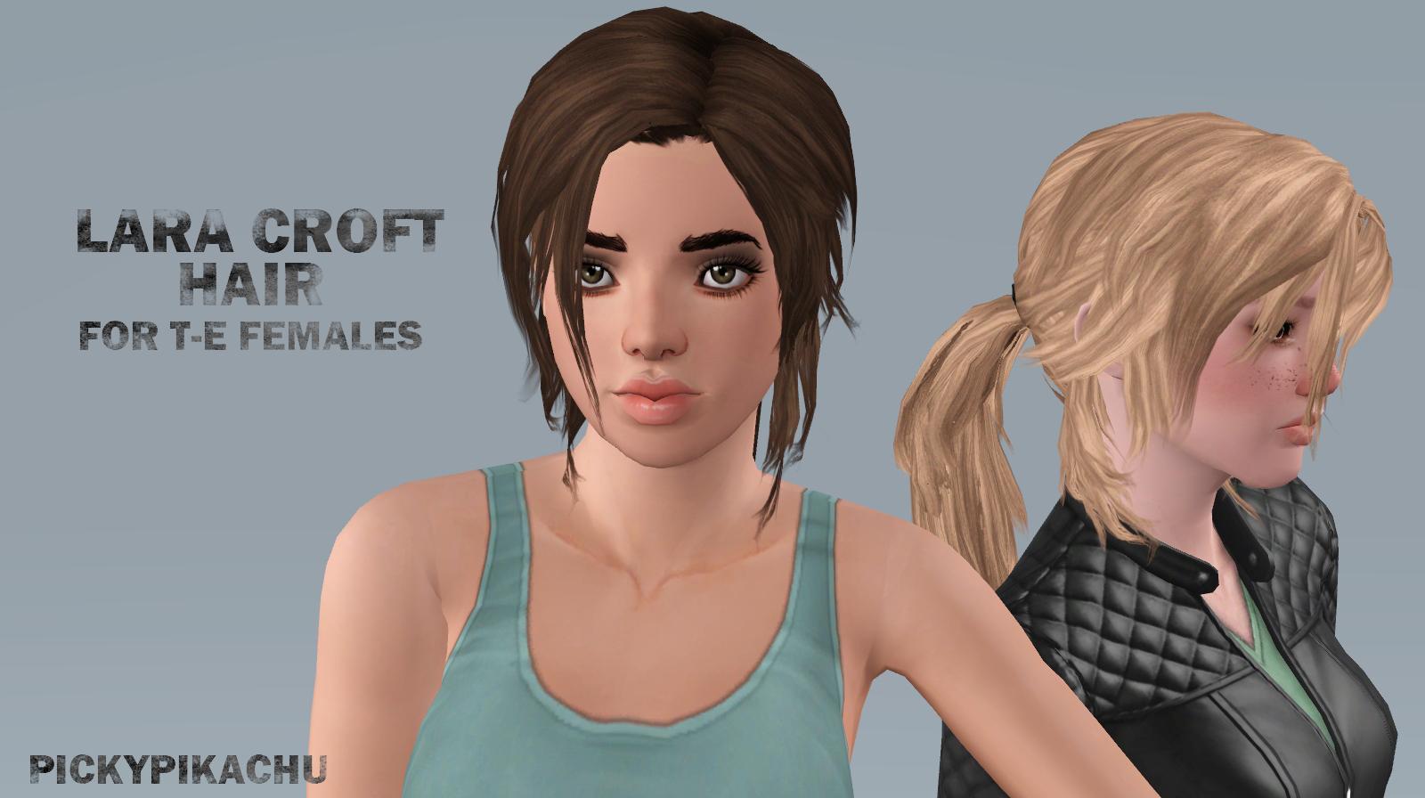 Lara croft hair anime gallery