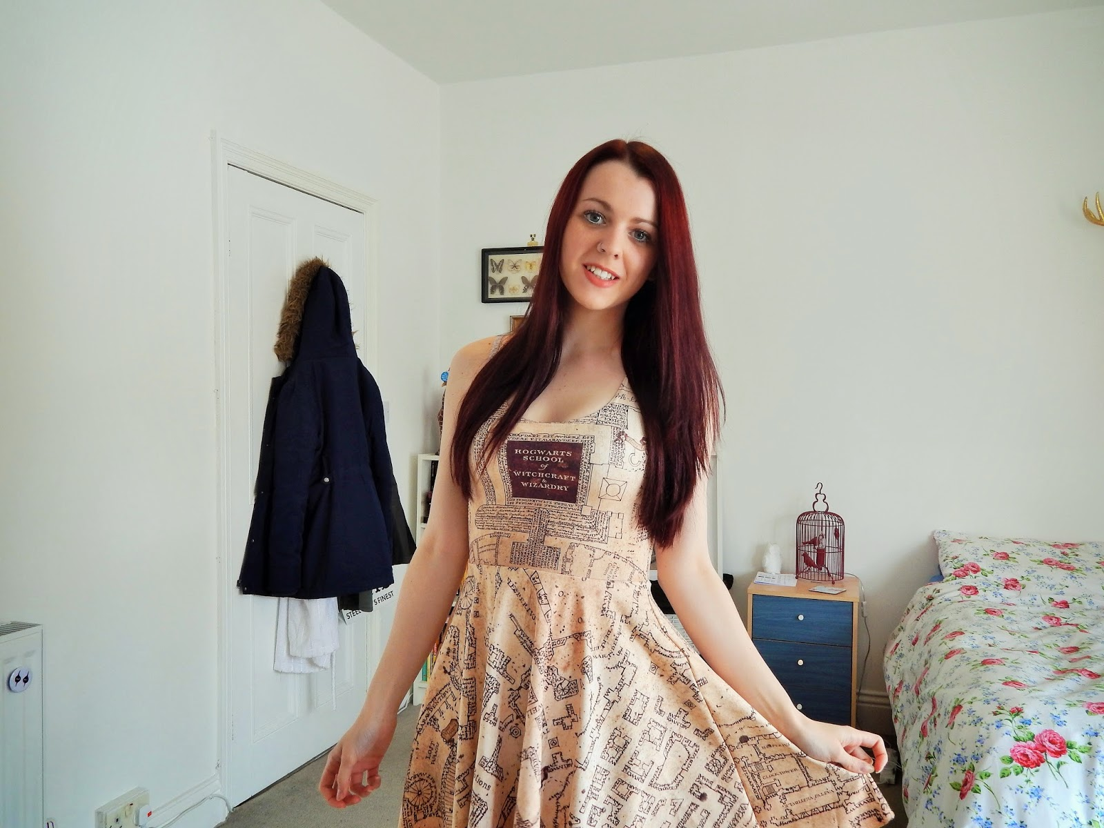 BlackMilk Marauders Map Dress.