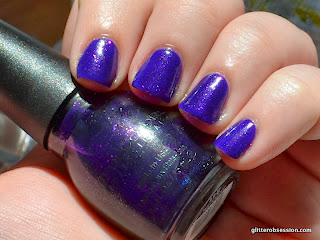 Sinful Colors Daddy's Girl, Sinful Colors Daddy's Girl swatch, Sinful Colors Daddy's Girl nail swatch