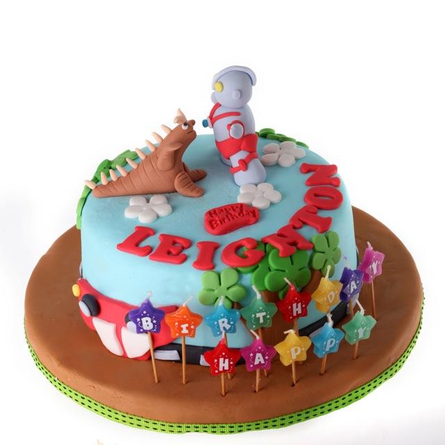 Sugaar Cakes Ultraman Cake