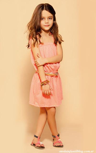 moda niñas primavera verano  2014 vestidos