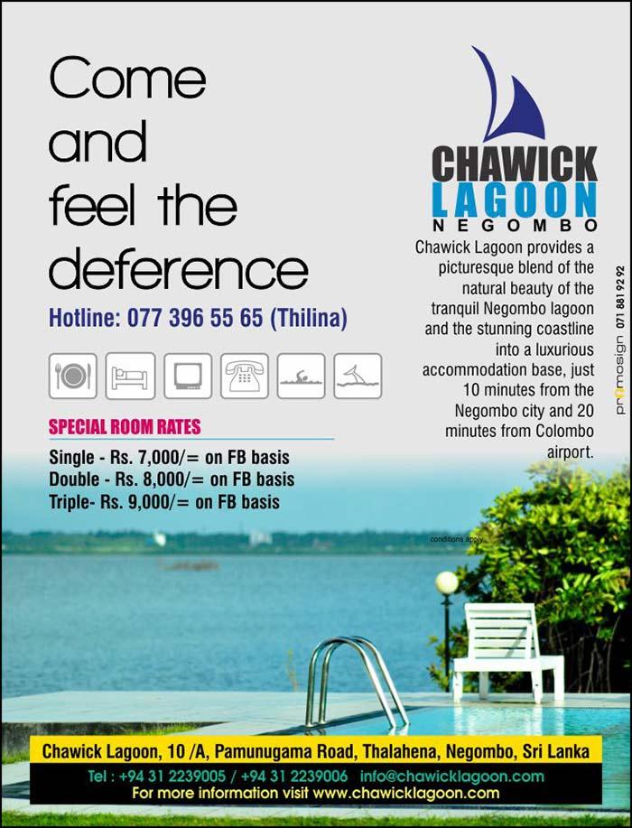 Hotel travel Lagoon Negombo