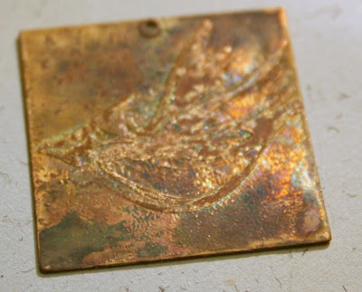 Etching adventures in brass: Step #2 - first clean-up:: All Pretty Things