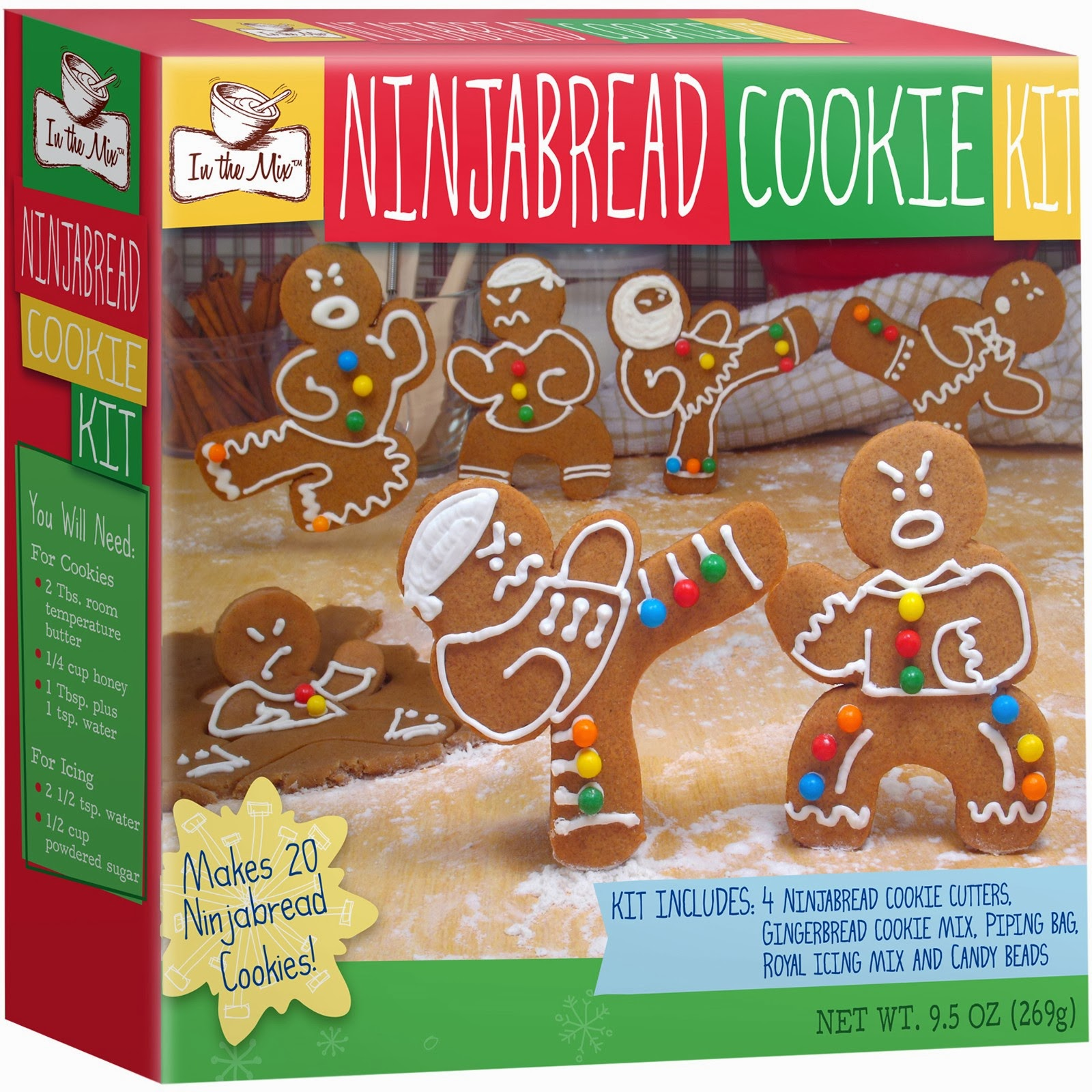 Embody More Light 540 Ugly Sweater Cookie Kit Or Gingerbread