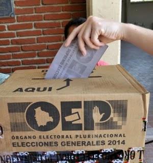 Elecciones con problemas en Bolivia 2014