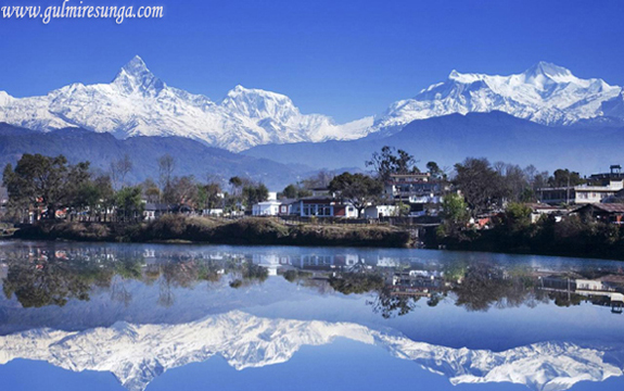 phewa lake, phewa taal, lakes in nepal